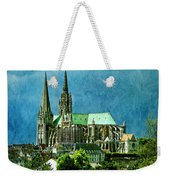 Chartres Cathedral Weekender Tote Bag
