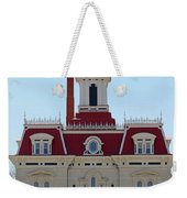 Chase County Courthouse In Kansas Weekender Tote Bag