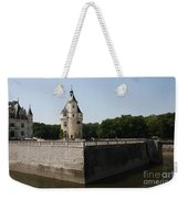 Chateau And Moat Chenonceau Weekender Tote Bag