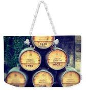 Chateau Barrels Weekender Tote Bag