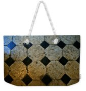 Chateau Brissac's Tile Floor Weekender Tote Bag