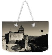 Chateau De Castelnaud With Hot Air Weekender Tote Bag