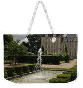 Chateau De Cheverny With Garden Fountain Weekender Tote Bag