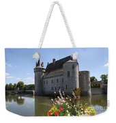 Chateau De Sully-sur-loire And Moat Weekender Tote Bag