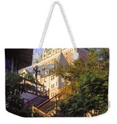 Chateau Frontenac In Quebec Weekender Tote Bag