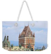 Chateau Frontenac Quebec City Canada Weekender Tote Bag