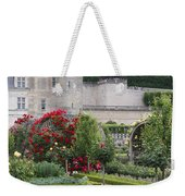 Chateau Villandry And The Cabbage Garden  Weekender Tote Bag