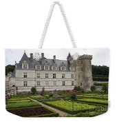 Chateau Villandry - Usefulness And Ornament  Weekender Tote Bag