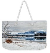 Chatuge Dam Winter Vista Weekender Tote Bag
