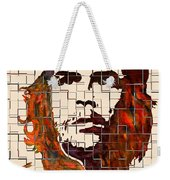 Che Guevara Watercolor Painting Weekender Tote Bag