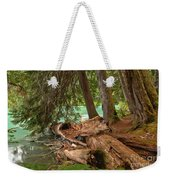 Cheakamus Lake Rainforest - British Columbia Weekender Tote Bag