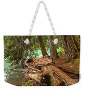 Cheakamus Lake Shoreline Weekender Tote Bag