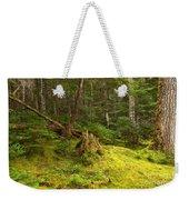 Cheakamus Rainforest Floor Weekender Tote Bag