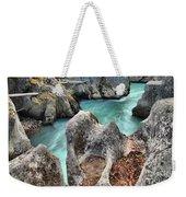 Cheakamus River Channel Weekender Tote Bag