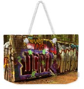 Cheakamus River Train Wreck Weekender Tote Bag