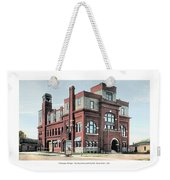 Cheboygan Michigan - Opera House And City Hall - Huron Street - 1905 Weekender Tote Bag