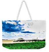 Chechessee River Style Weekender Tote Bag