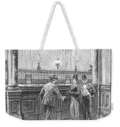Check Forger, 1890 Weekender Tote Bag