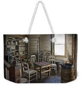 Checker Game Setting In A Back Room No. 3105 Weekender Tote Bag