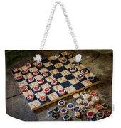 Checkers Weekender Tote Bag