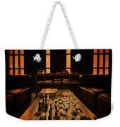 Checkmate Weekender Tote Bag by Evelina Kremsdorf