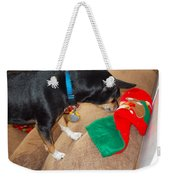 Looking For His Gifts Weekender Tote Bag