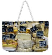 Cheese Weekender Tote Bag