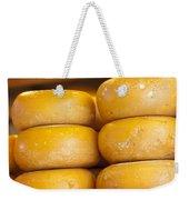 Cheese Wheels Weekender Tote Bag