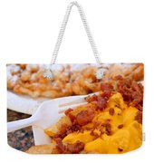 Cheesy Bacon Fries And Funnel Cake Weekender Tote Bag