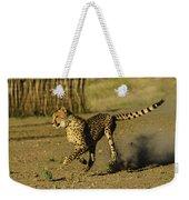 Cheetah On The Run Weekender Tote Bag