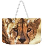 Cheetah One Weekender Tote Bag
