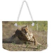 Cheetah Run 2 Weekender Tote Bag