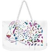 Cheetah Watercolor - White Weekender Tote Bag