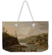 Cheevers Mill On The St. Croix River Weekender Tote Bag