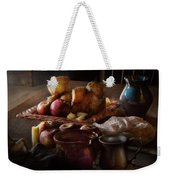 Chef - Food - A Tribute To Rembrandt - Apples And Rolls  Weekender Tote Bag