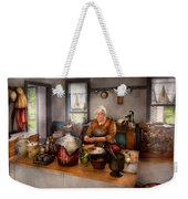 Chef - Kitchen - Cleaning Cherries  Weekender Tote Bag