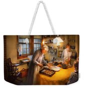 Chef - Kitchen - Coming Home For The Holidays Weekender Tote Bag