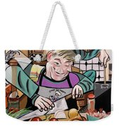 Chef With Heart Weekender Tote Bag