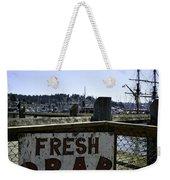 Chelsea Rose Crab Weekender Tote Bag