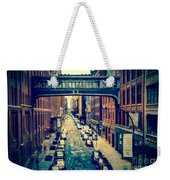 Chelsea Street As Seen From The High Line Park. Weekender Tote Bag