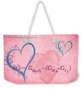 Chemical Thermodynamic Equation For Love 2 Weekender Tote Bag