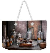 Chemist - The Art Of Measurement Weekender Tote Bag by Mike Savad