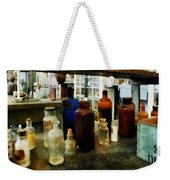 Chemistry - Assorted Chemicals In Bottles Weekender Tote Bag