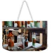 Chemistry - Bottles Of Chemicals Weekender Tote Bag