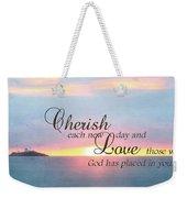 Cherish Love Weekender Tote Bag by Lori Deiter