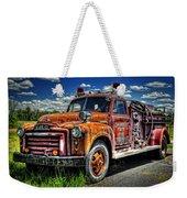 Cherokee Fire Truck Weekender Tote Bag
