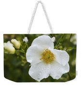 Cherokee Rose With Rain Drops Weekender Tote Bag