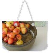 Cherries And Glass Filler Weekender Tote Bag