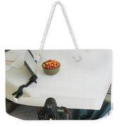 Cherries And Reflector Weekender Tote Bag
