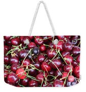 Cherries In Des Moines Washington Weekender Tote Bag